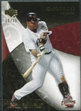 2007 Upper Deck Exquisite Collection Rookie Signatures Gold #56 Carlos Lee /75