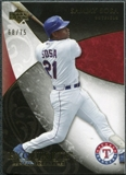2007 Upper Deck Exquisite Collection Rookie Signatures Gold #57 Sammy Sosa /75
