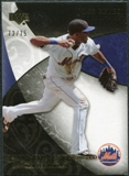 2007 Upper Deck Exquisite Collection Rookie Signatures Gold #83 Jose Reyes /75