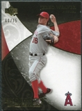 2007 Upper Deck Exquisite Collection Rookie Signatures Gold #84 Jered Weaver /75