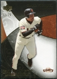 2007 Upper Deck Exquisite Collection Rookie Signatures Gold #91 Omar Vizquel /75