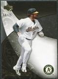 2007 Upper Deck Exquisite Collection Rookie Signatures Gold #98 Mike Piazza /75