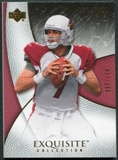 2007 Upper Deck Exquisite Collection #1 Matt Leinart /150