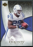 2007 Upper Deck Exquisite Collection #28 Joseph Addai /150