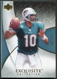 2007 Upper Deck Exquisite Collection #33 Trent Green /150