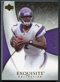2007 Upper Deck Exquisite Collection #35 Tarvaris Jackson /150