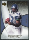2007 Upper Deck Exquisite Collection #55 Shaun Alexander /150
