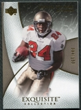 2007 Upper Deck Exquisite Collection #58 Cadillac Williams /150