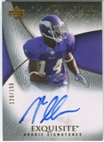 2007 Upper Deck Exquisite Collection #66 Aundrae Allison RC Autograph /150