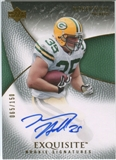 2007 Upper Deck Exquisite Collection #70 Korey Hall Autograph /150