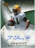 2007 Upper Deck Exquisite Collection #72 David Clowney RC Autograph /150