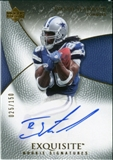 2007 Upper Deck Exquisite Collection #75 Isaiah Stanback Autograph /150
