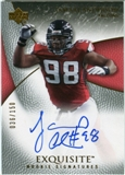 2007 Upper Deck Exquisite Collection #77 Jamaal Anderson Autograph /150