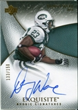 2007 Upper Deck Exquisite Collection #79 Danny Ware Autograph /150