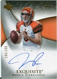 2007 Upper Deck Exquisite Collection #80 Jeff Rowe RC Autograph /150