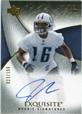 2007 Upper Deck Exquisite Collection #81 Joel Filani Autograph /150