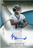 2007 Upper Deck Exquisite Collection #82 John Broussard Autograph /150