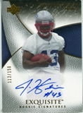 2007 Upper Deck Exquisite Collection #86 Justise Hairston Autograph /150