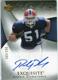 2007 Upper Deck Exquisite Collection #96 Paul Posluszny Autograph /150