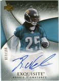 2007 Upper Deck Exquisite Collection #97 Reggie Nelson Autograph /150