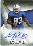 2007 Upper Deck Exquisite Collection #98 Roy Hall RC Autograph /150