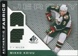 2007/08 Upper Deck SP Game Used Authentic Fabrics #AFMK Mikko Koivu