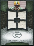 2007 Upper Deck Exquisite Collection Maximum Jersey Silver #BJ Brandon Jackson /75