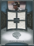 2007 Upper Deck Exquisite Collection Maximum Jersey Silver #BL Byron Leftwich /75