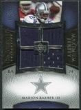 2007 Upper Deck Exquisite Collection Maximum Jersey Silver #BM Marion Barber /75
