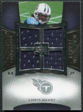2007 Upper Deck Exquisite Collection Maximum Jersey Silver #CH Chris Henry RB /75