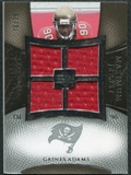 2007 Upper Deck Exquisite Collection Maximum Jersey Silver #GA Gaines Adams /75