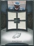 2007 Upper Deck Exquisite Collection Maximum Jersey Silver #HU Tony Hunt /75