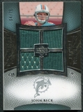 2007 Upper Deck Exquisite Collection Maximum Jersey Silver #JB John Beck /75