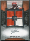 2007 Upper Deck Exquisite Collection Maximum Jersey Silver #KI Kenny Irons /75