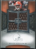 2007 Upper Deck Exquisite Collection Maximum Jersey Silver #KW Kellen Winslow /75