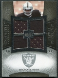 2007 Upper Deck Exquisite Collection Maximum Jersey Silver #MI Michael Bush /75