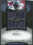 2007 Upper Deck Exquisite Collection Maximum Jersey Silver #SA Shaun Alexander /75