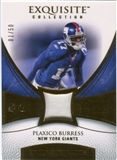 2007 Upper Deck Exquisite Collection Patch Gold #PB Plaxico Burress 1/50