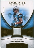 2007 Upper Deck Exquisite Collection Patch Gold #SS Steve Smith /50
