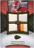 2007 Upper Deck Exquisite Collection Maximum Patch #DB Dwayne Bowe 9/25