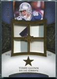 2007 Upper Deck Exquisite Collection Maximum Patch #GL Terry Glenn /25
