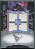 2007 Upper Deck Exquisite Collection Maximum Jersey Silver Spectrum #AJ Andre Johnson /15