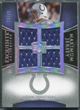 2007 Upper Deck Exquisite Collection Maximum Jersey Silver Spectrum #AV Adam Vinatieri /15