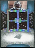 2007 Upper Deck Exquisite Collection Maximum Jersey Silver Spectrum #DJ Dwayne Jarrett /15