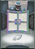 2007 Upper Deck Exquisite Collection Maximum Jersey Silver Spectrum #HU Tony Hunt /15
