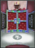2007 Upper Deck Exquisite Collection Maximum Jersey Silver Spectrum #JH Jason Hill /15