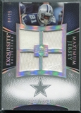 2007 Upper Deck Exquisite Collection Maximum Jersey Silver Spectrum #JJ Julius Jones /15