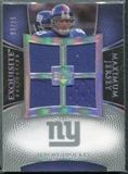 2007 Upper Deck Exquisite Collection Maximum Jersey Silver Spectrum #JS Jeremy Shockey /15