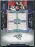 2007 Upper Deck Exquisite Collection Maximum Jersey Silver Spectrum #MB Marc Bulger /15