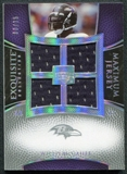 2007 Upper Deck Exquisite Collection Maximum Jersey Silver Spectrum #WM Willis McGahee /15